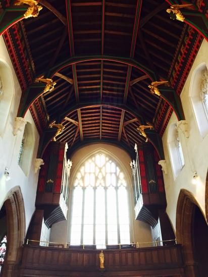 Nice ceiling!