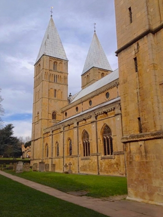 Southwell Minster - south view